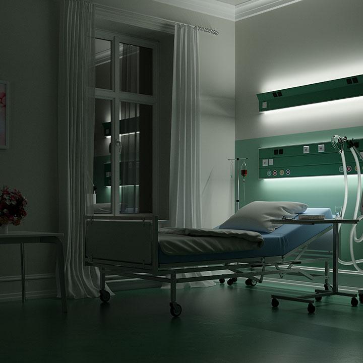 夜勤専従看護師